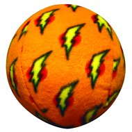 Tuffy's Mighty Dog Ball, Orange, Large