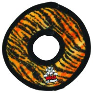 Tuffy's Mega Junior Ring Dog Toy, Tiger