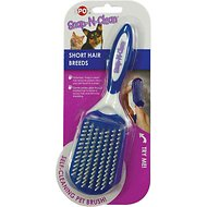 Ethical Pet Snap N Clean Short Hair Dog Brush, Small
