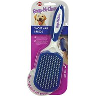 Ethical Pet Snap N Clean Short Hair Dog Brush, Large