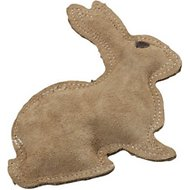 Ethical Pet Dura-Fused Leather Rabbit Dog Toy, Small