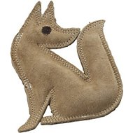 Ethical Pet Dura-Fused Leather Fox Dog Toy, Small