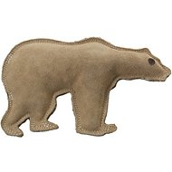 Ethical Pet Dura-Fused Leather Bear Dog Toy, Large