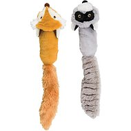 Ethical Pet Skinneez Squeak-Off Forrest Dog Toy, 18-inch (Colors Vary)