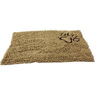 Ethical Pet Clean Paws Dog Doormat, Tan, Large