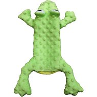 Ethical Pet Skinneez Extreme Stuffer Frog Dog Toy, 14-inch