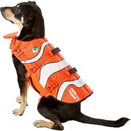 Outward Hound Lifejacket for Dogs, Orange Fish, Large
