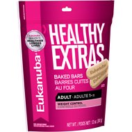 Eukanuba Healthy Extras Adult Weight Control Dog Treats, 12-oz bag