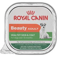 Royal Canin Beauty Adult Healthy Skin & Coat Small Breed Dog Food Trays, 3.5-oz, case of 24