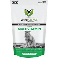 VetriScience NuCat Multivitamin Everyday Health Bite-Sized Cat Chews, 30 chews