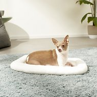 MidWest Quiet Time Deluxe Double Bolster Pet Bed, Fleece, 18-inch