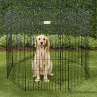 MidWest Exercise Pen with Full MAXLock Door, Black, 42-inch