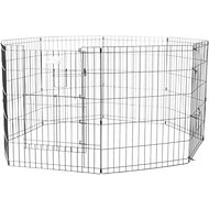 MidWest Exercise Pen with Split MAXLock Door, Black, 30-inch
