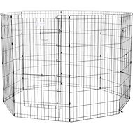 MidWest Exercise Pen with Split MAXLock Door, Black, 42-inch