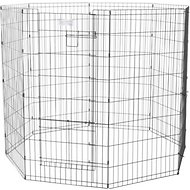 MidWest Exercise Pen with Split MAXLock Door, Black, 48-inch