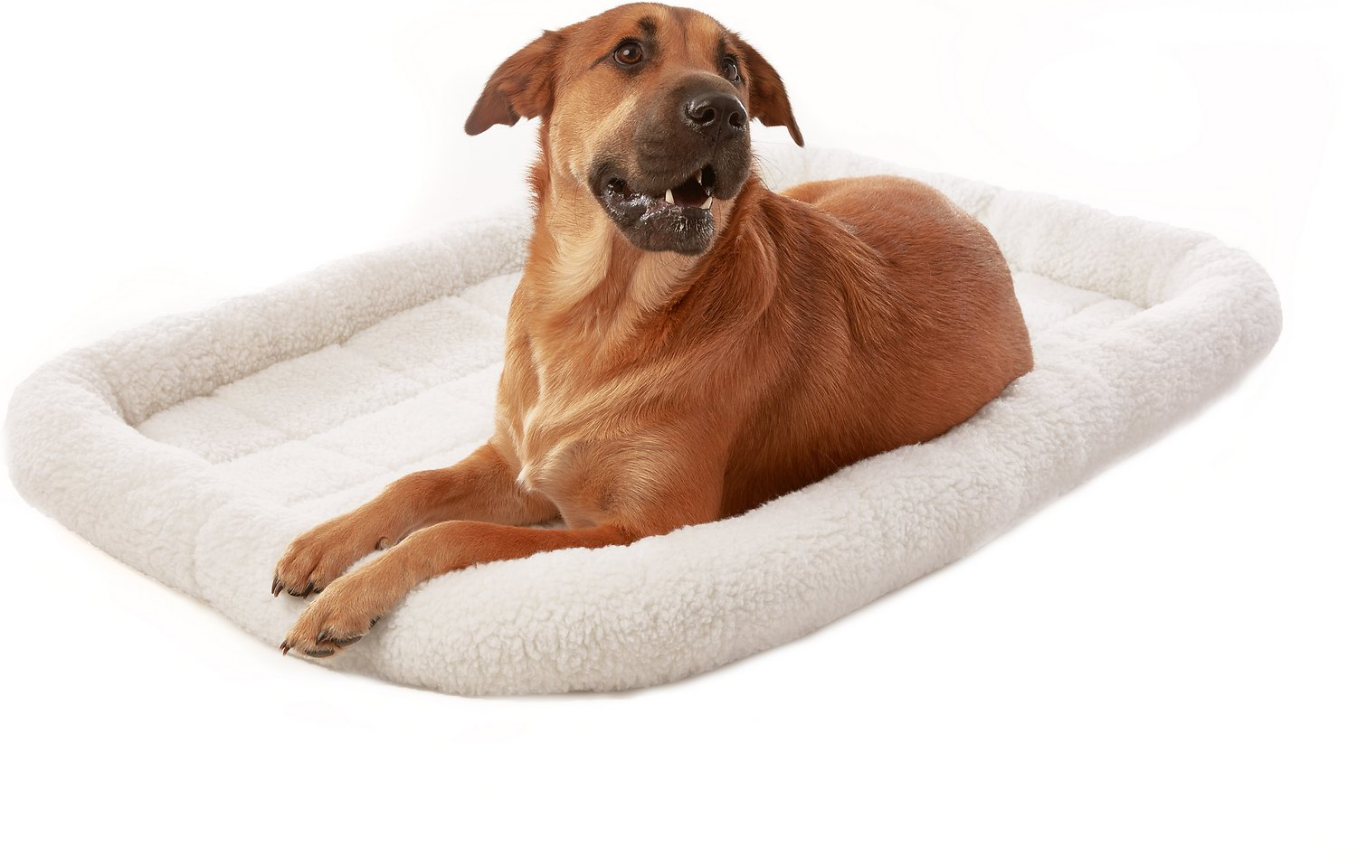 Frisco Quilted Fleece Pet Bed