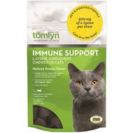 Tomlyn L-Lysine Chews Immune Support Chews for Cats, 30-count bag