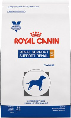 6. Royal Canin Veterinary Diet Renal Support S Dry Dog Food