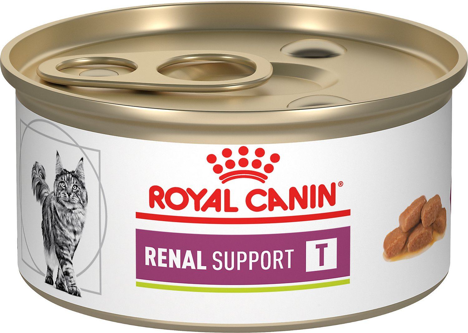 royal canin veterinary diet renal support t canned cat. Black Bedroom Furniture Sets. Home Design Ideas