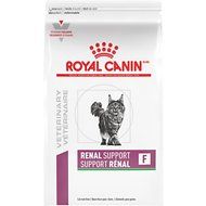 Royal Canin Veterinary Diet Renal Support F Dry Cat Food, 3-lb bag