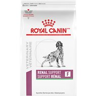 Royal Canin Veterinary Diet Renal Support F Dry Dog Food, 17.6-lb bag