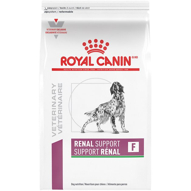 royal canin veterinary diet renal support f dry dog food 17 6 lb bag chewy. Black Bedroom Furniture Sets. Home Design Ideas