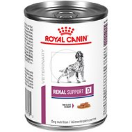 Royal Canin Veterinary Diet Renal Support D Canned Dog Food, 13.5-oz, case of 24