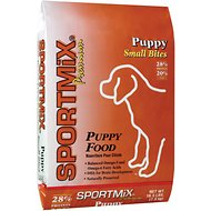 SPORTMiX Premium Small Bites Puppy Dry Dog Food, 16.5-lb bag