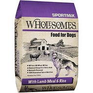 SPORTMiX Wholesomes with Lamb Meal & Rice Formula Dry Dog Food, 40-lb bag