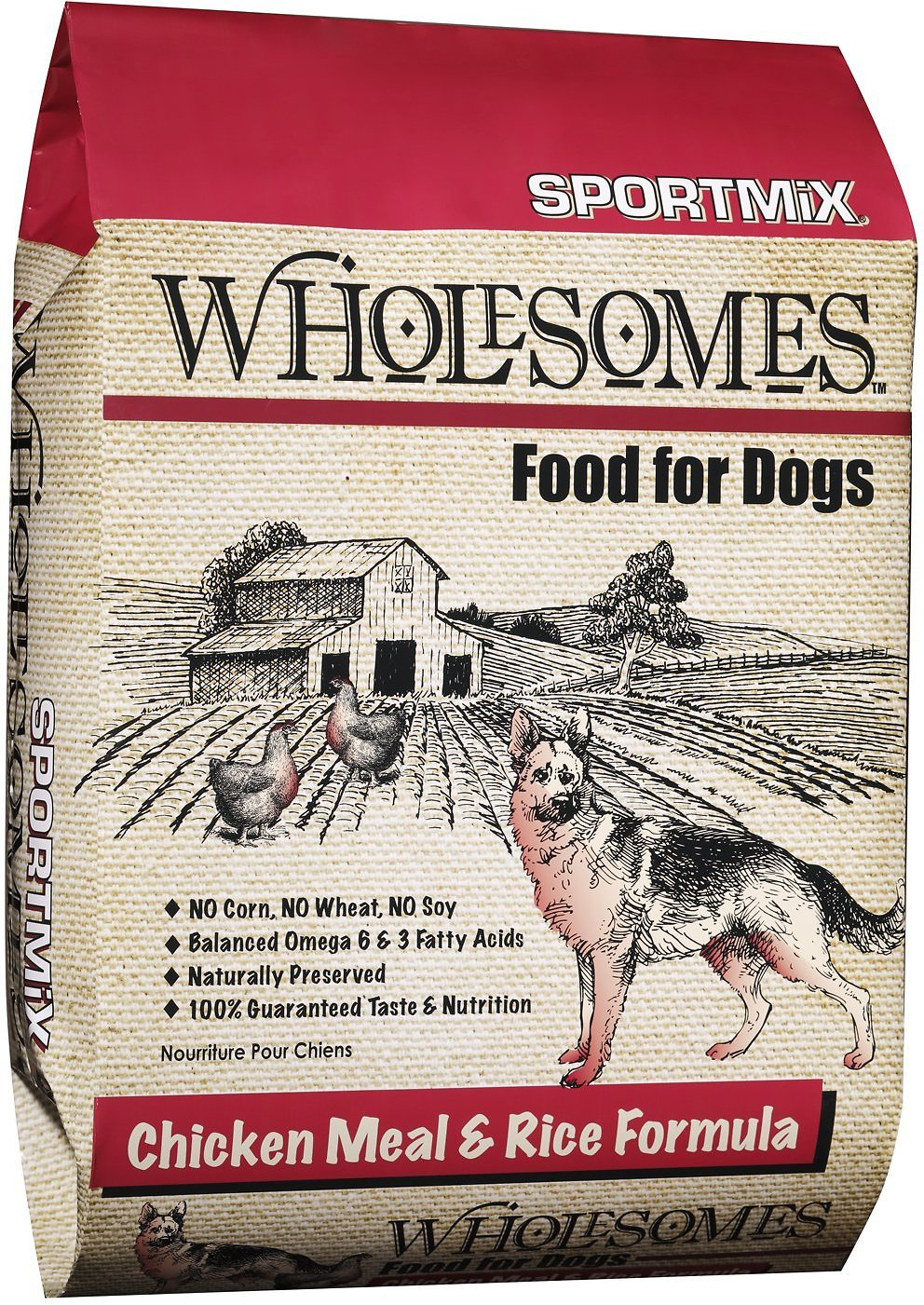 Sportmix Wholesomes Chicken Meal Rice Formula Adult Dry Dog Food