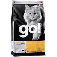 Go! Sensitivity + Shine Limited Ingredient Diet Duck Recipe Grain-Free Dry Cat Food, 4-lb bag