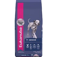Eukanuba Senior Chicken Recipe Dry Dog Food, 30-lb bag