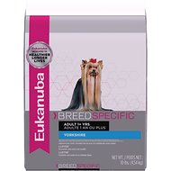 Eukanuba Breed Specific Yorkshire Terrier Adult Dry Dog Food, 10-lb bag
