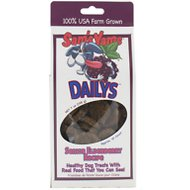Sam's Yams Daily's Senior Elderberry Recipe Dog Treats, 7-oz bag