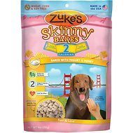 Zuke's Skinny Bakes Baked with Yogurt & Honey Dog Treats, 9-oz bag