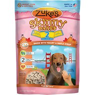 Zuke's Skinny Bakes Baked with Yogurt & Maple Syrup Dog Treats, 9-oz bag
