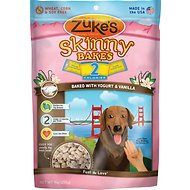 Zuke's Skinny Bakes Baked with Yogurt & Vanilla Syrup Dog Treats, 9-oz bag