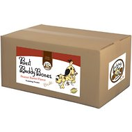 Exclusively Dog Best Buddy Bones Peanut Butter Flavor Dog Treats, 15-lb box