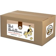 Exclusively Dog Best Buddy Bones Beef & Liver Flavor Dog Treats, 15-lb box