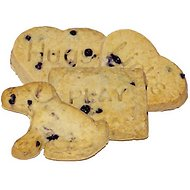 Exclusively Dog Biscuit Shapes Blueberry Flavor Dog Treats, 20-lb box