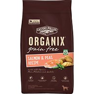 Castor & Pollux Organix Grain-Free Salmon & Peas Recipe Dry Dog Food, 4-lb bag