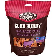 Castor & Pollux Good Buddy Sausage Cuts Real Beef Recipe Grain-Free Dog Treats, 5-oz bag