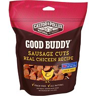 Castor & Pollux Good Buddy Sausage Cuts Real Chicken Recipe Grain-Free Dog Treats, 5-oz bag
