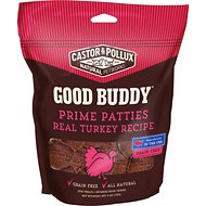 Castor & Pollux Good Buddy Prime Patties Real Turkey Recipe Grain-Free Dog Treats, 4-oz bag