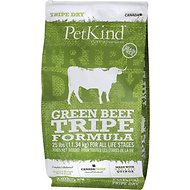 PetKind Tripe Dry Green Beef Tripe Formula Dry Dog Food, 25-lb bag