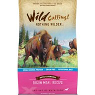 Wild Calling Xotic Essentials Bison Meal Recipe Grain-Free Dry Dog Food, 21-lb bag