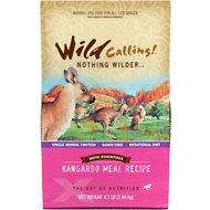 Wild Calling Xotic Essentials Kangaroo Meal Recipe Grain-Free Dry Dog Food, 4.5-lb bag