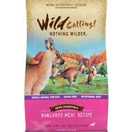 Wild Calling Xotic Essentials Kangaroo Meal Recipe Grain-Free Dry Dog Food, 21-lb bag
