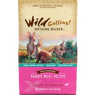 Wild Calling Xotic Essentials Rabbit Meal Recipe Grain-Free Dry Dog Food, 4.5-lb bag