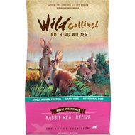 Wild Calling Xotic Essentials Rabbit Meal Recipe Grain-Free Dry Dog Food, 21-lb bag